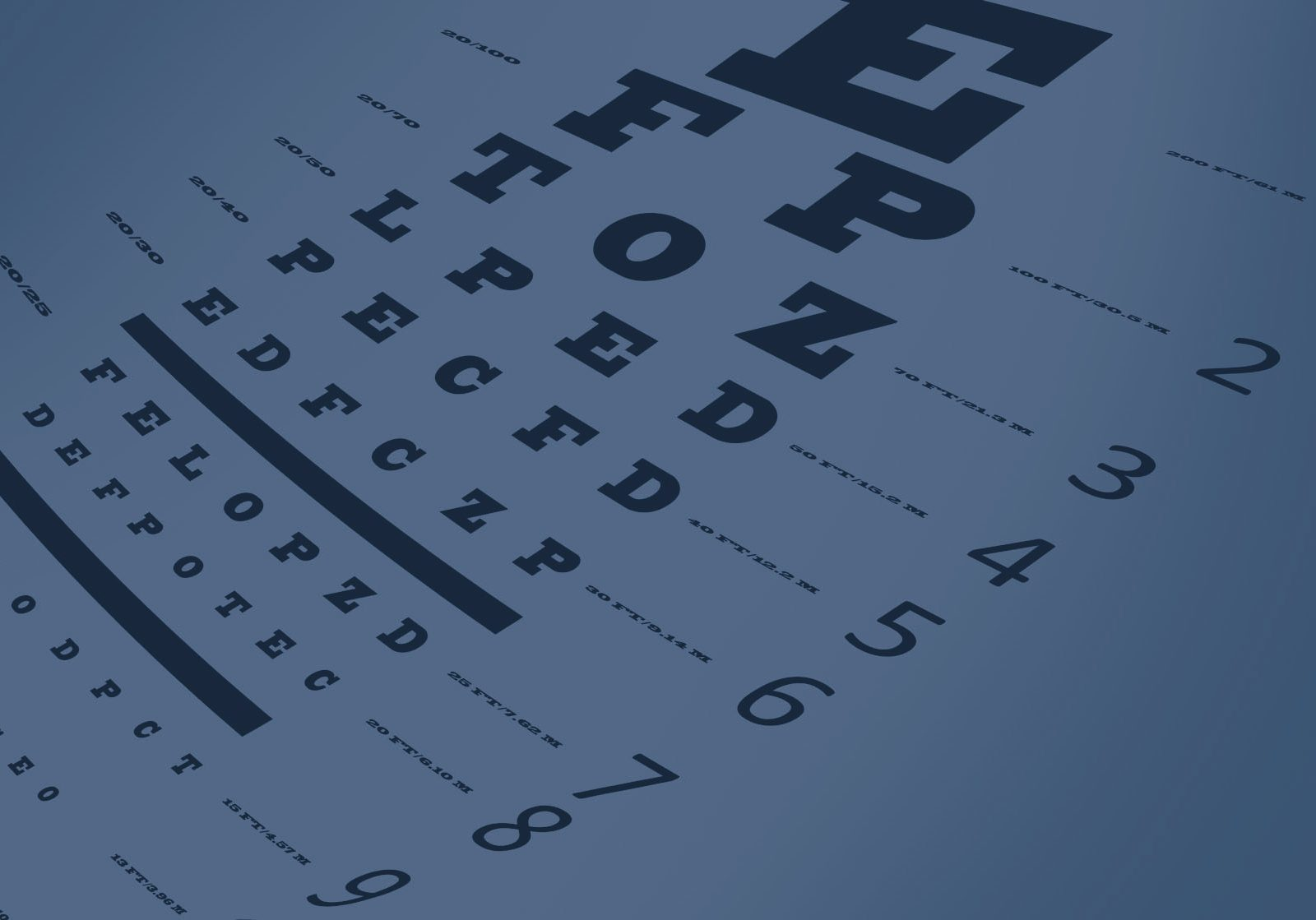 46225152 - an eye sight test chart with multiple lines